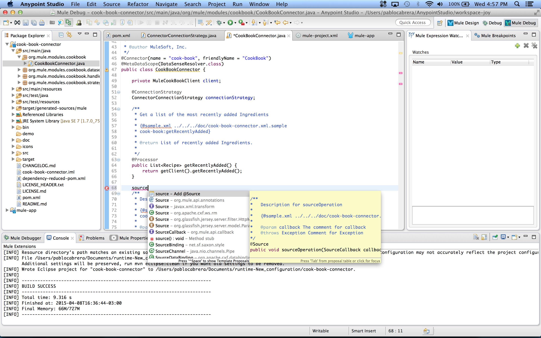 DevKit Tutorial - MuleSoft